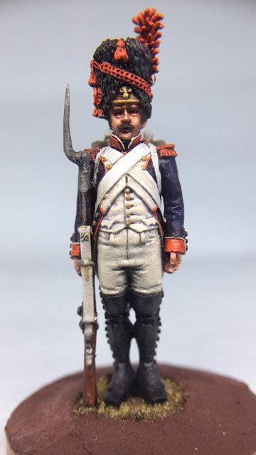 11.008-M Line Infantry Grenadier Standing in Bearskin