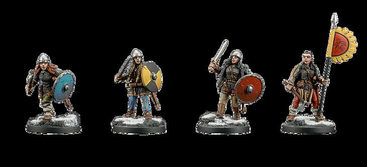 Vikings 7 Shield Maidens