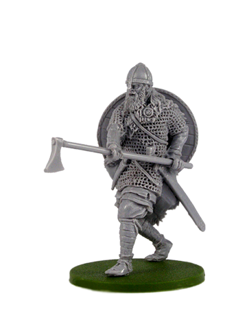 Viking with Long Axe