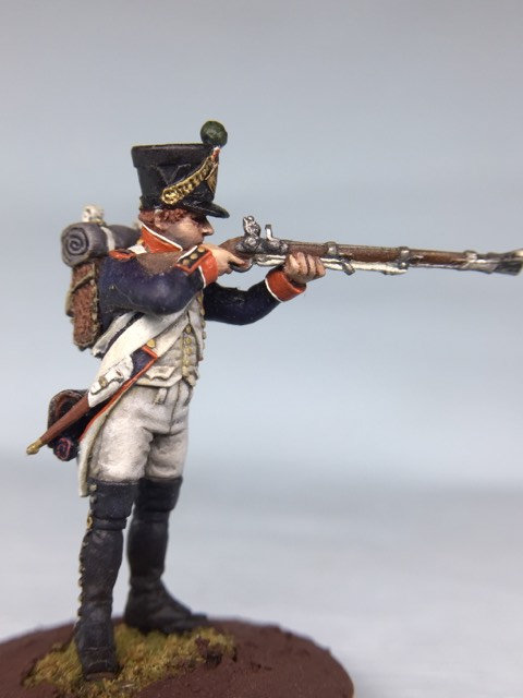 11.018-M Line Infantry Fusilier 2nd Line Shooter in Shako
