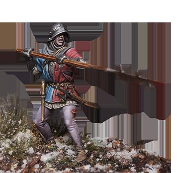 Wars of the Roses English Billman #1