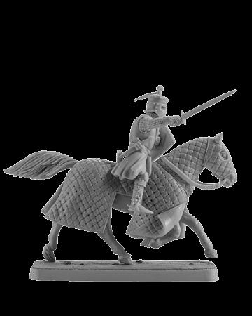 Mounted Crusader Knight #4