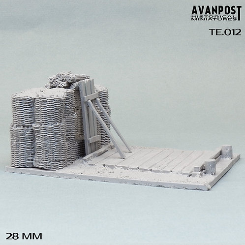 TE.012 Fortified Artillery Position