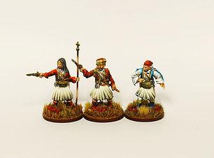GW002 Nikitaras with Greek Rebels painte