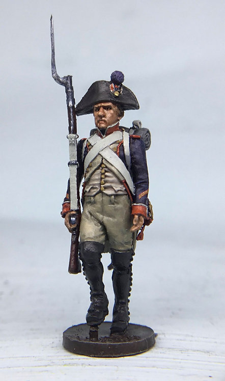 11.099-M Line Infantry Fusilier Sergeant in Bicorn Marching