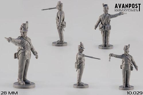10.029 Gunner with Portfire Holder