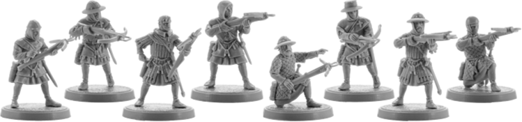 Crusader Crossbowmen