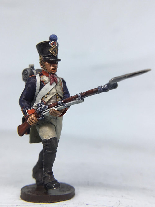 11.102-M Line Infantry Fusilier in Shako Attacking