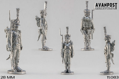 11.083-M Chasseur Company Sergeant in Shako
