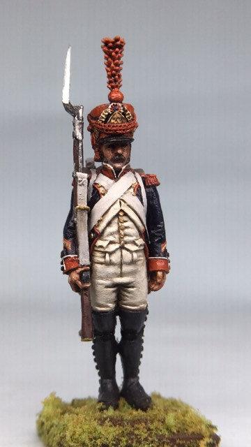 11.045-M Line Infantry Grenadier in Shako