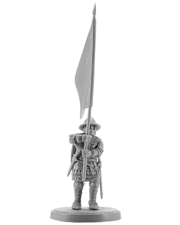 Hundred Years War English Knight with Banner