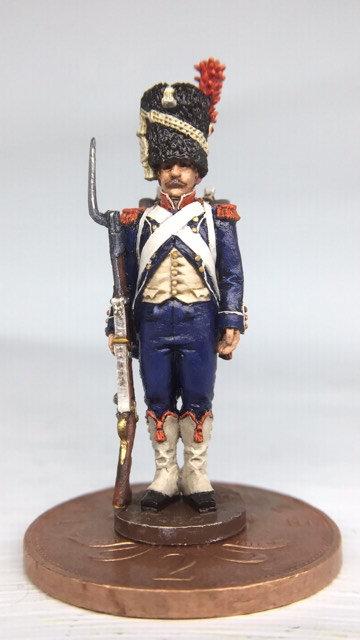 11.080-M Carabinier in Bearskin Standing