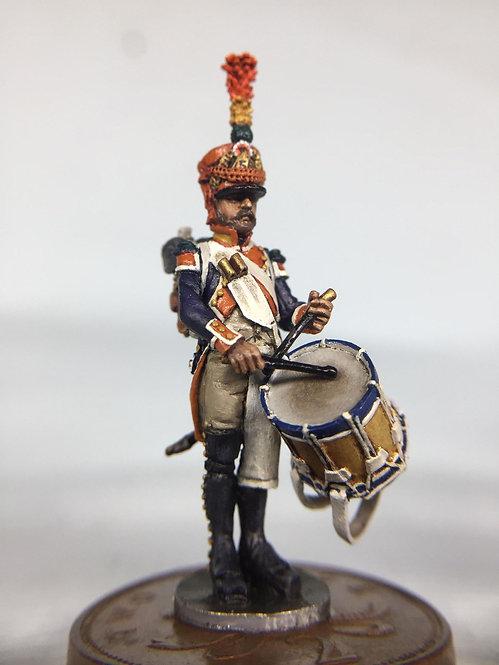 11.065-M Voltigeur Company Drummer Standing in Shako
