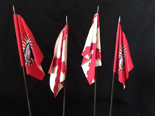Thirty Years War - Catholic League Infantry Flag 2