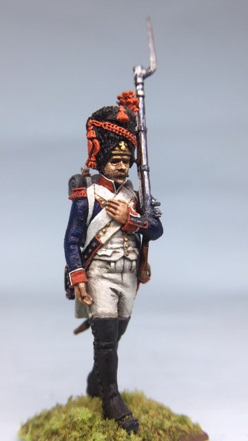 11.054-M Line Infantry Grenadier Marching in Bearskin