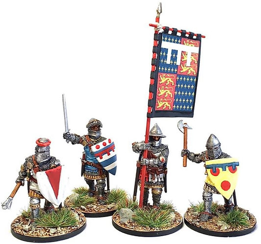 Hundred Years War English Medieval Knights