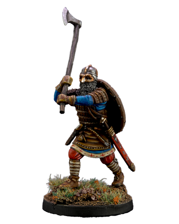Viking with Broad Axe #1
