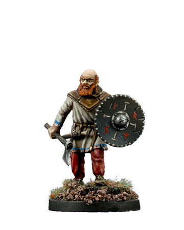 Viking with Axe #4