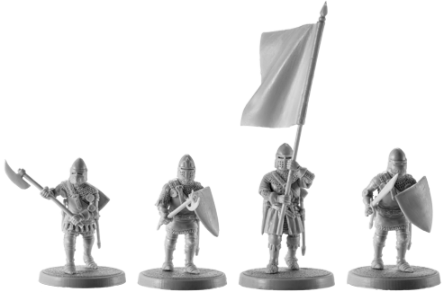 Hundred Years War French Medieval Knights