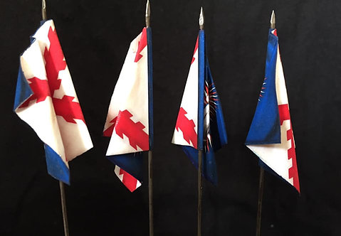 Thirty Years War - Catholic League Infantry Flag 1