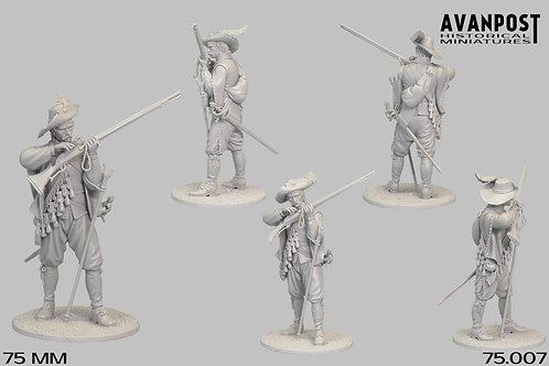 75.007 European Musketeer 1630AD