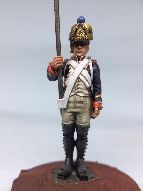 11.012-M Line Infantry Eagle Bearer Sergeant in Shako
