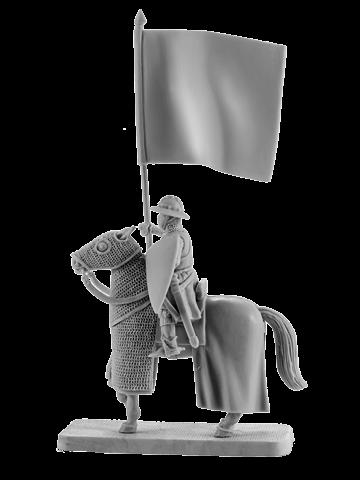 Mounted Crusader Bannerman