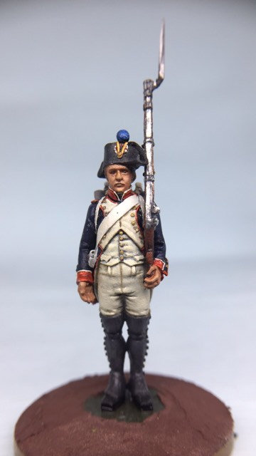 11.006-M Line Infantry Fusilier Standing in Bicorn
