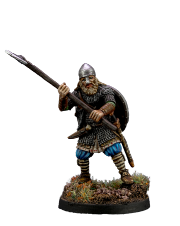 Viking with Broad Axe #2