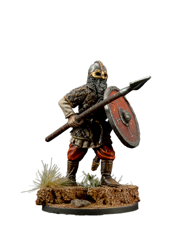 Viking with Spear #1