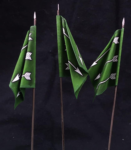 Thirty Years War - Swedish Green Regiment Flag 2