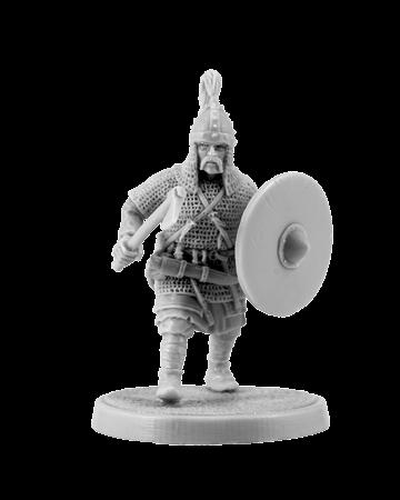 Slavic Warrior with Axe #1