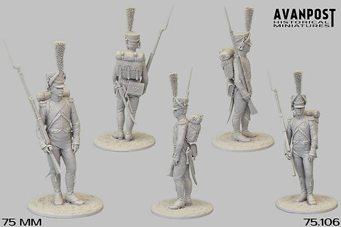 75.106 Sergeant Chasseur Co. 15th Light Infantry Regiment 1812