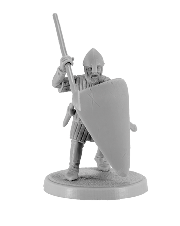 Crusader with Spear #1