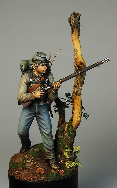 75.201 Confederate Soldier 1864