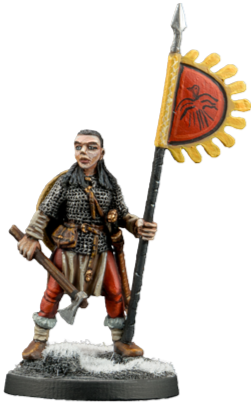 Viking Warrior Woman #4