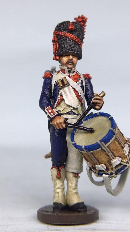 11.077-M Carabinier Company Drummer Standing in Bearskin