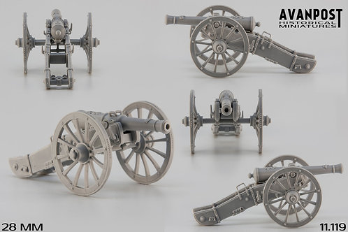 11.119 Gribeauval 12-pdr Cannon
