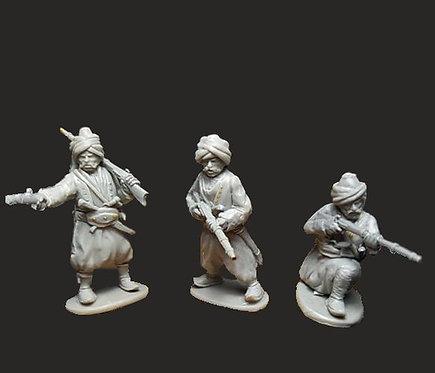 OTT004 Ottoman Irregulars with Sishanes/Rifles