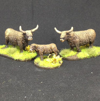 Warbases Cattle 28mm