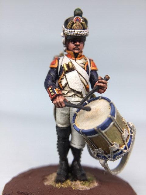 11.011-M Fusilier Company Drummer in Shako