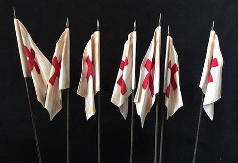 Crusades - Knights Templar Flag 4