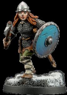 Viking Warrior Woman #1