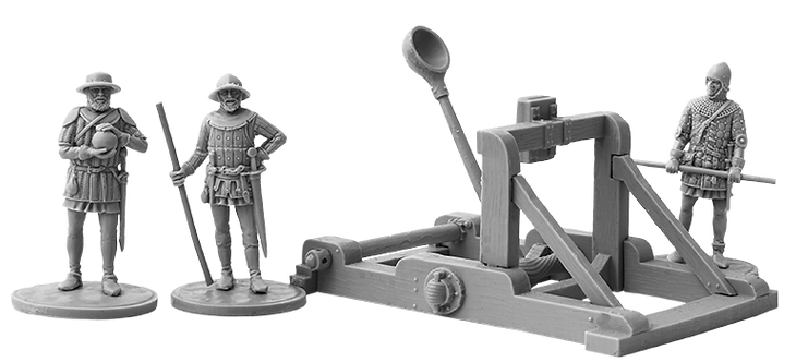 Hundred Years War Catapult
