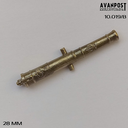 10.019-B Bronze Barrel for Long 6pdr Gun