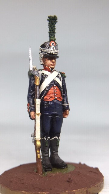 11.085-M Chasseur in Shako Standing