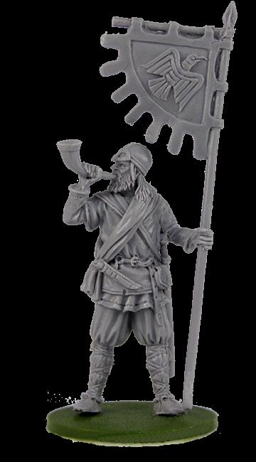 Viking Banner Bearer