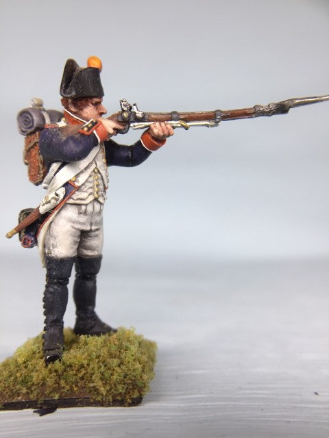 11.020-M Line Infantry Fusilier 2nd Line Shooter in Bicorn