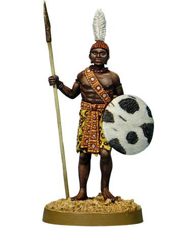 Ancient Egyptian Nubian Warrior