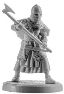 Viking Warrior Woman #8